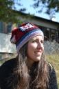 Thilda relaxing outside school