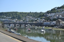 First impression of Looe, Cornwall.