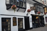 A traditional pub in Looe.