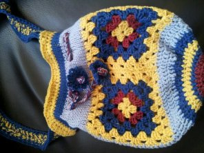 The two day crochet bag.