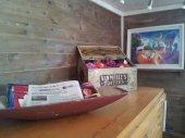Sweet yarn in the toffee box!