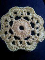 "First try at a ""Maybelle"" flower."