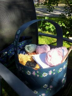 Cotton stash basket