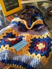 Crochet bag 100% Bomull/Cotton