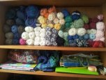 Yarn and knitting in order