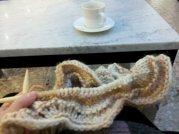 Coffee and yarn.