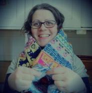 Crazy knitter.