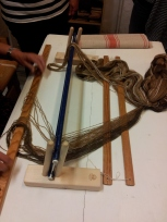 The first steps in weaving