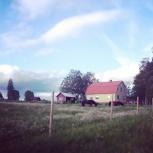 The village where my folks live