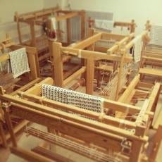 The weaving looms await...