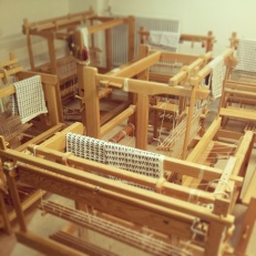 The weaving looms await...