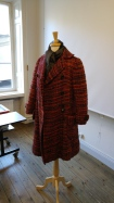 This beautiful coat is our drawing subject.