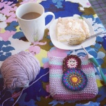 Crochet and coffee.