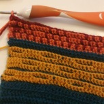 From a recent crochet course in Swedish with Maria Xullberg