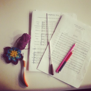 Combining Crochet and Conducting!